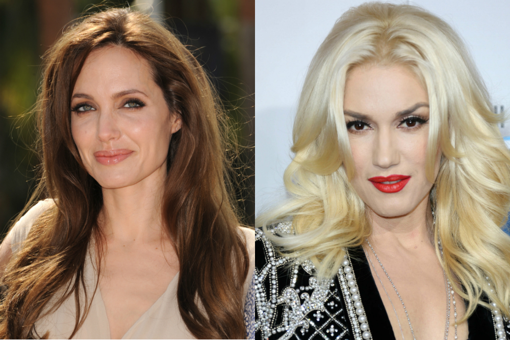 Angelina Jolie  Gwen Stefani
